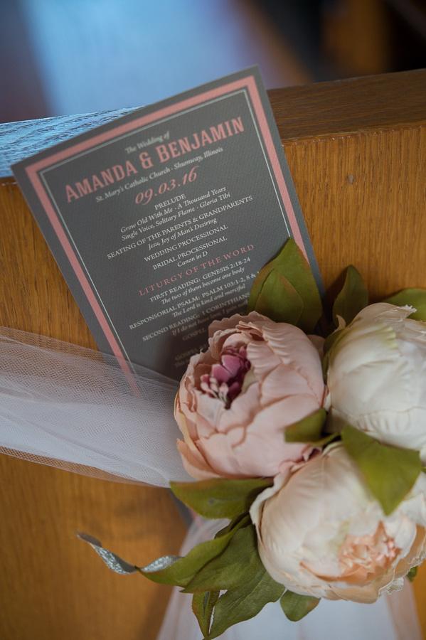 Amanda and Ben | Wedding @ Shumway IL » katekeyphotography com